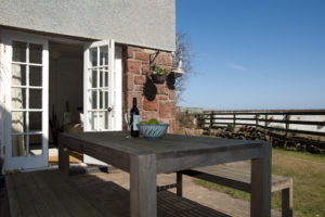Self Catering Holiday Cottage Dunbar Garden View